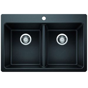 Riveo Kitchen Sink - Double Drop-In