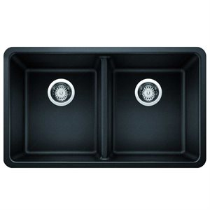 Silgranit double undermount sink