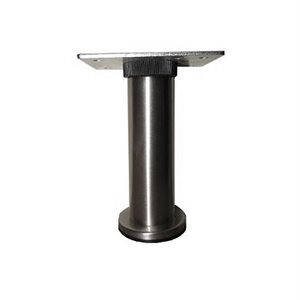"Adjustable Round Table Leg - 4 1 / 2"" to 5"""