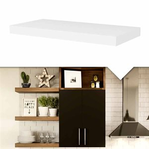 Invisible mounting shelf
